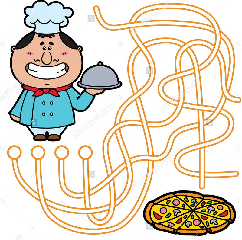 Pizza Maze For Kids Fun 001