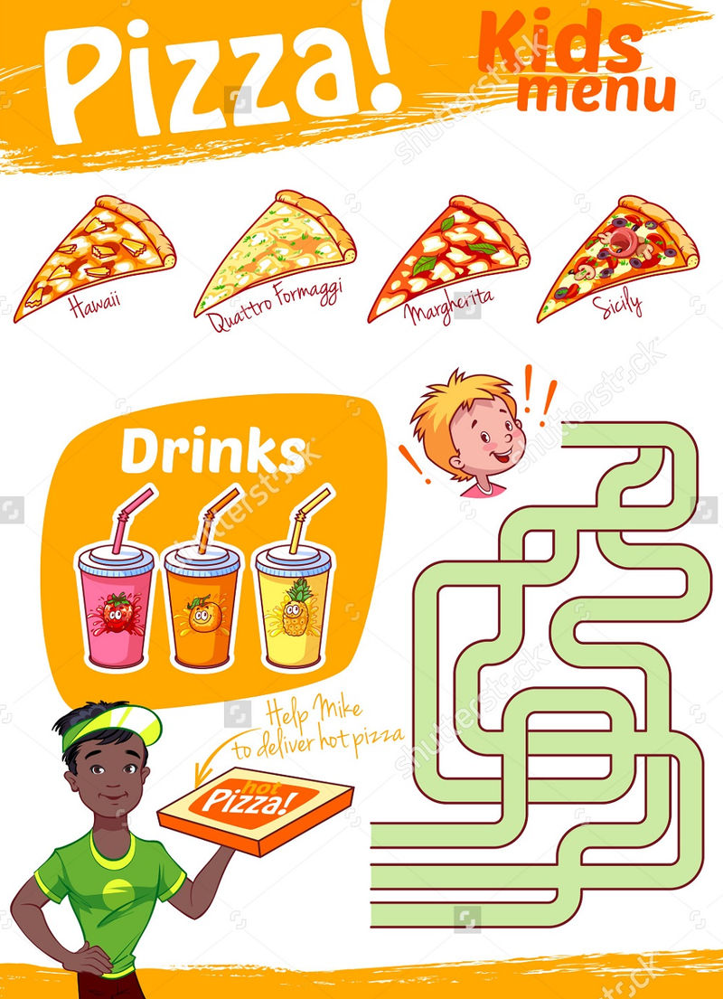 Pizza Maze For Kids Practice 001