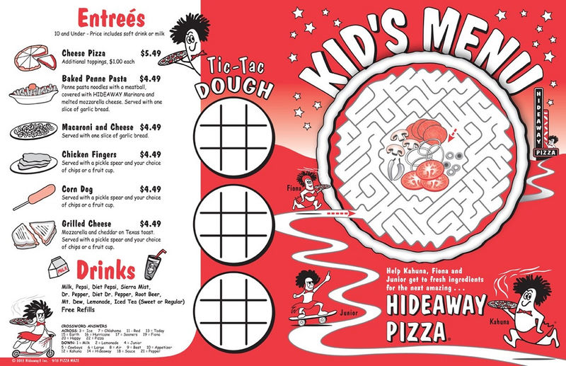 Pizza Maze For Kids Simple
