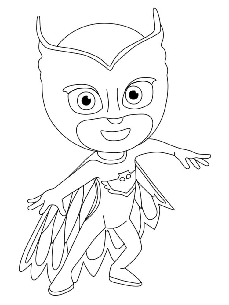 graphic about Printable Pj Masks Coloring Pages referred to as Pj Masks Coloring Webpage Persona Printables 001 1 - Coloring