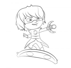 Pj masks luna girl coloring pages 001