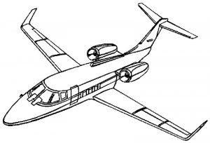Planes colouring pages 3 001