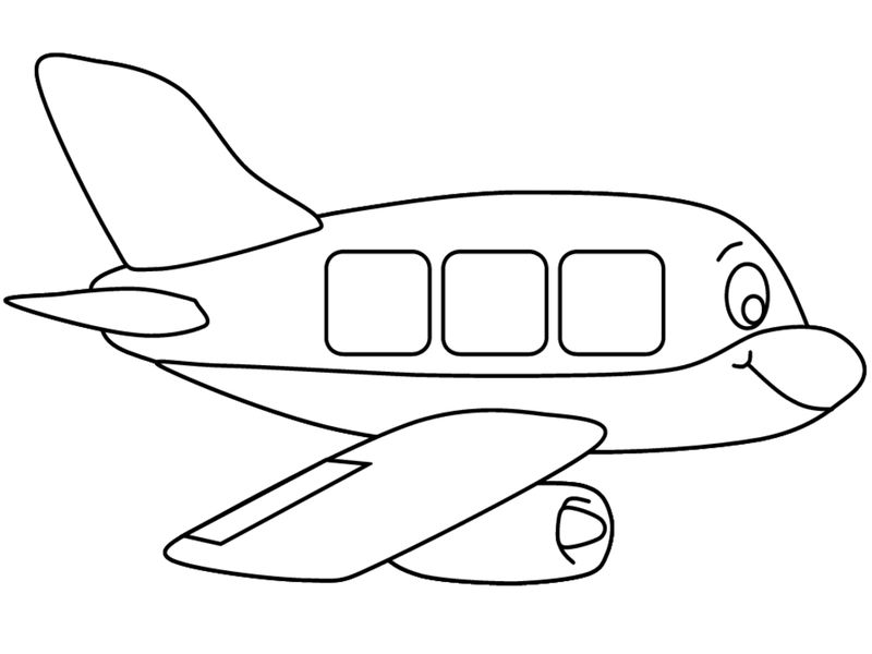 Planes Colouring Pages 5 001