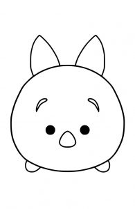 Pooh piglet tsum tsum coloring pages