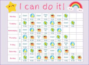 Potty charts for little girls 5 002
