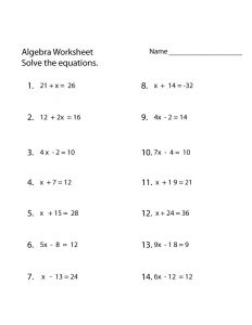 Primary maths worksheets free printable algebra