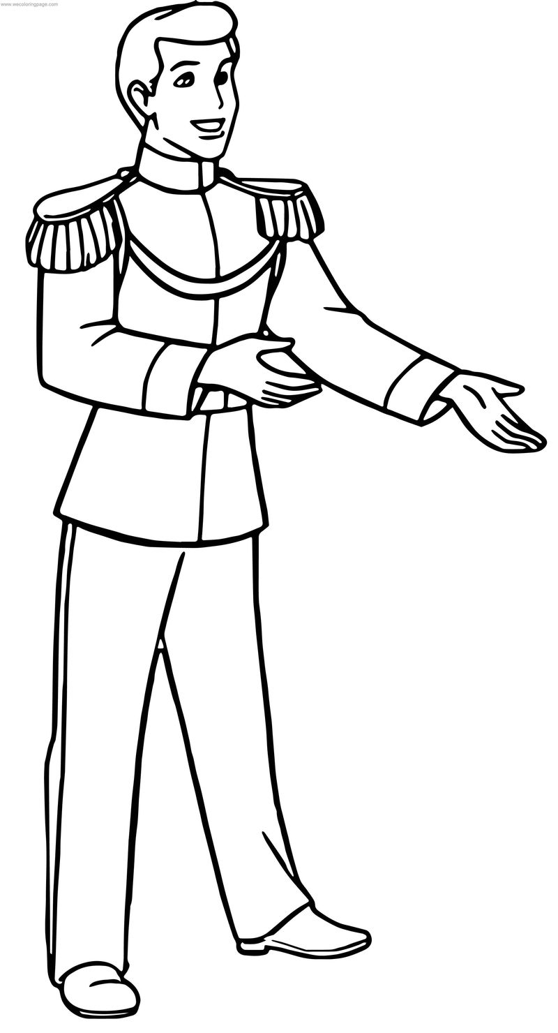 Prince Charming This Coloring Page