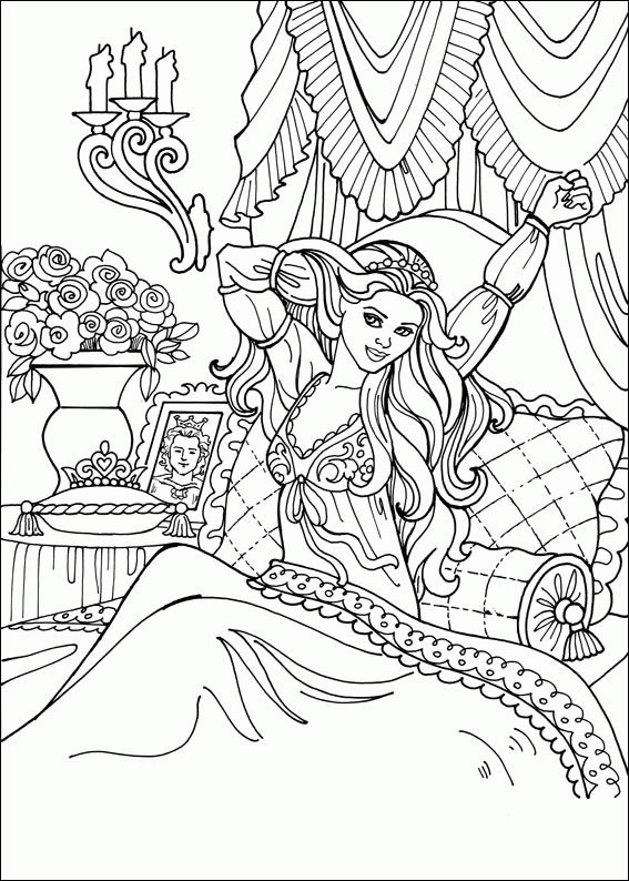 Princess Coloring Pages Awaken 001