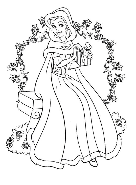 Princess Coloring Pages To Print 001