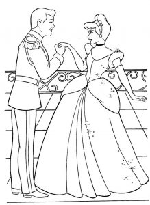 Princess coloring pages to print free 001