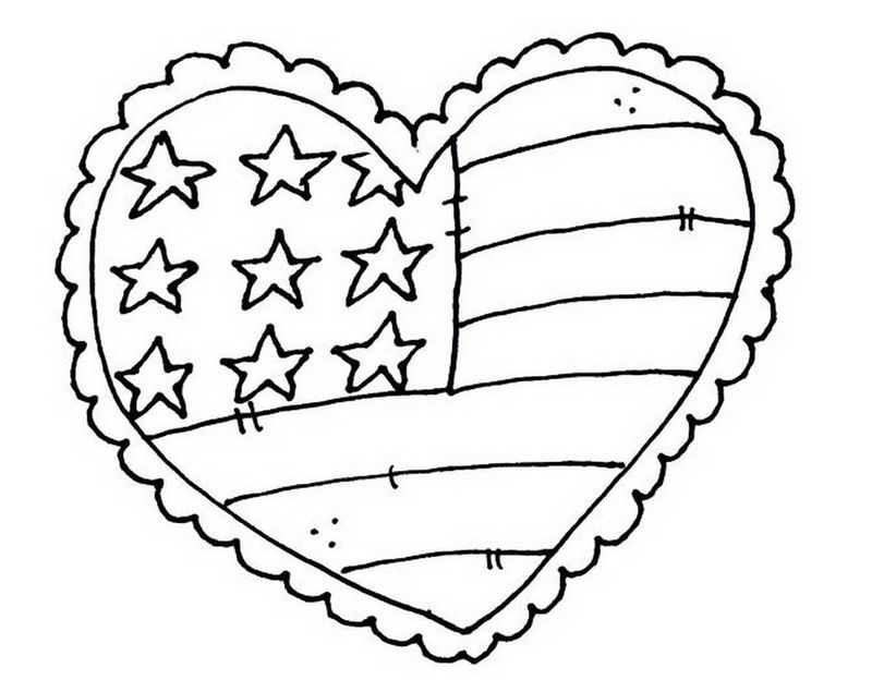 Print Free Memorial Day Coloring Page