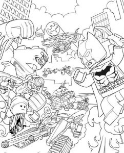 Print lego batman movie coloring pages