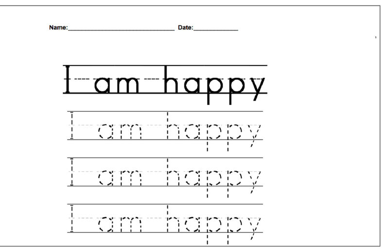 Printable Activity Books For 3 Year Olds Tracing