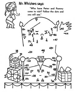 Printable activity sheets christmas for kids 001