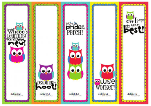 Printable Bookmarks For Kids 1 001