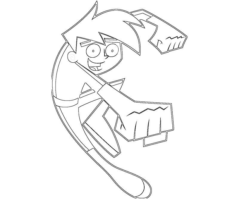 Printable Danny Phantom Coloring Pages For Kids