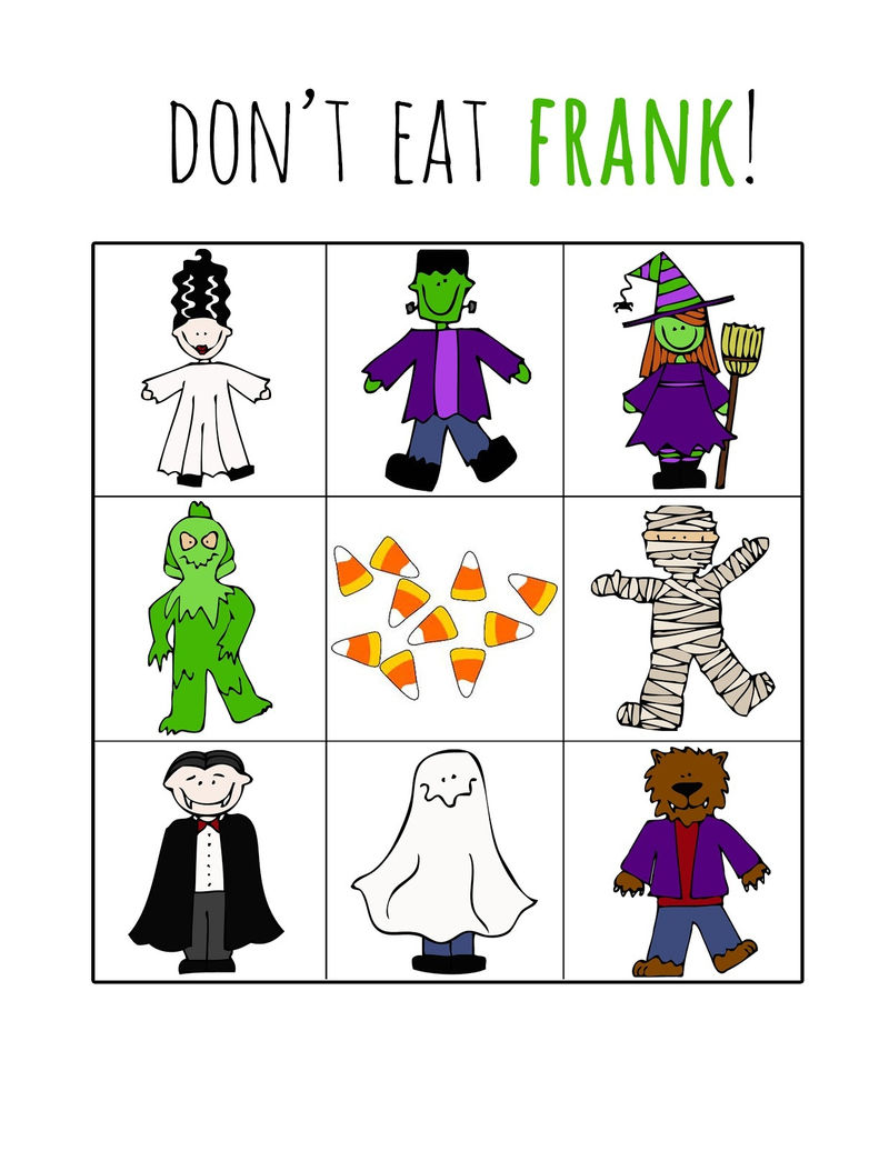 Printable Halloween Games Dont Eat Pete 001