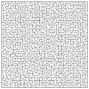 Printable mazes for adults difficult 001