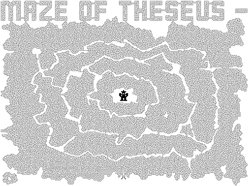 Printable Mazes For Adults Hardest 001