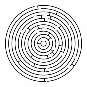 Printable mazes for adults 2