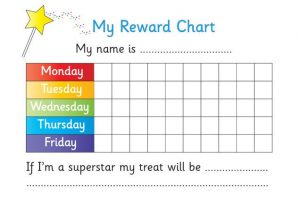 Printable reward chart for teachers daily 002