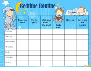Printable reward charts for routines