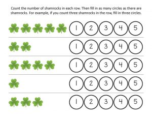 Printable st patricks day worksheets free