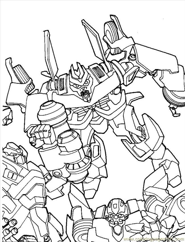 Printable Transformers Coloring Pages1