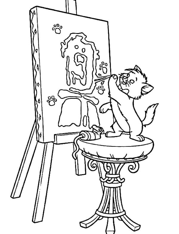 Printables Aristocats Coloring Page Free