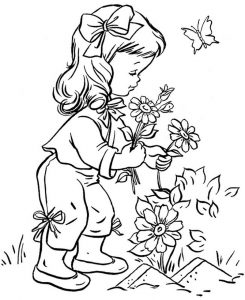 Printables for kids flowers 1