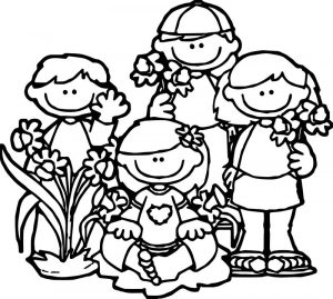 Rambling about reading spring break coloring page