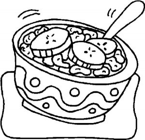Ramen food coloring page japanese food coloring printable