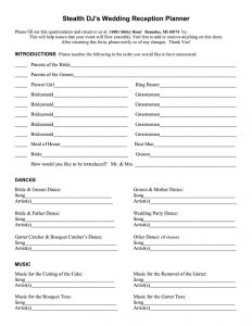 Reception worksheets plan