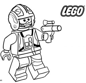 Resistance lego star wars coloring pages