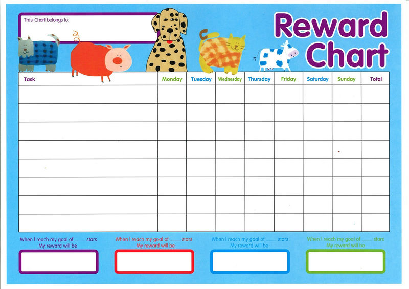 Reward Chart Template 14