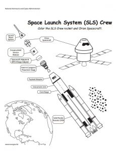 Rocket ship diagram worksheet