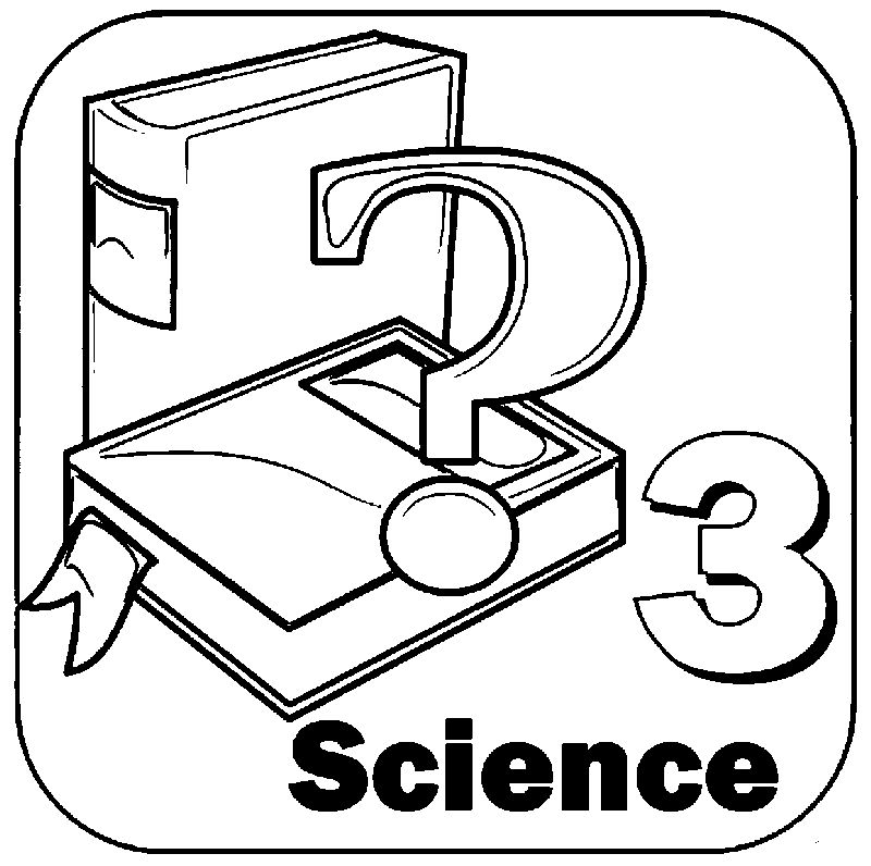 Science 3rd Grade Coloring Page