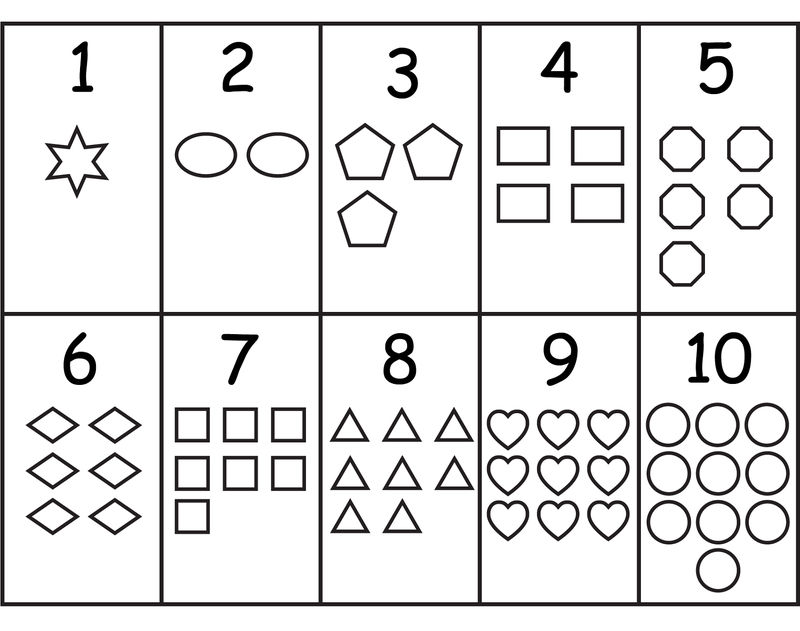 Shapes And Numbers New