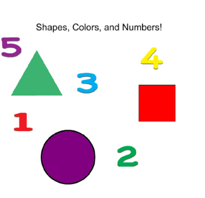 Shapes And Numbers Preschool