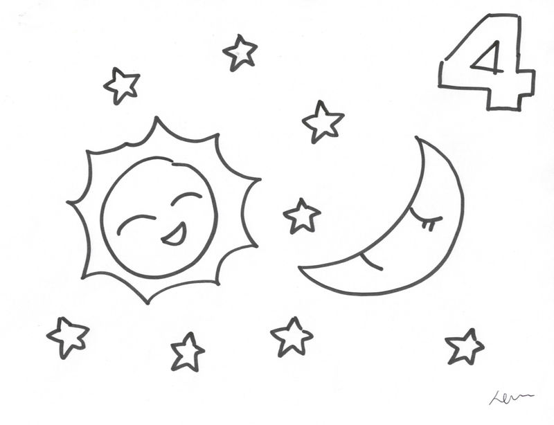 Simple Creation Coloring Pages Day 4