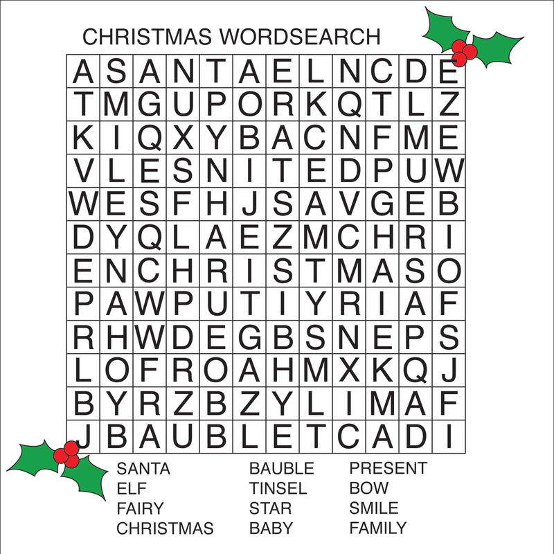 Simple Word Search French