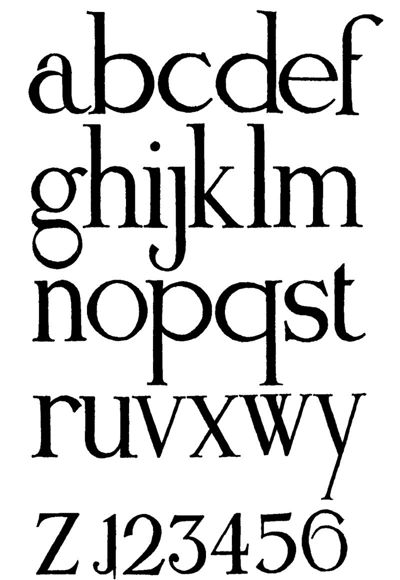 Small Alphabet Letters Cool