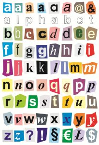 Small alphabet letters new