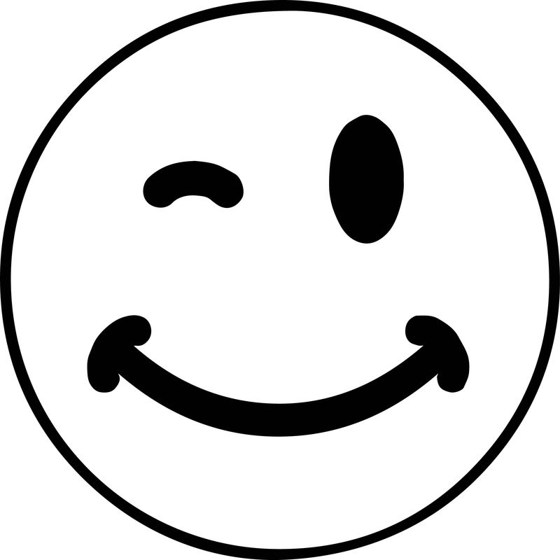 Smile Face Boy Coloring Pages