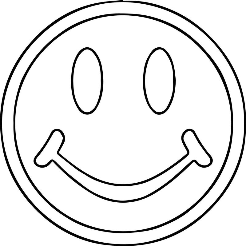 Smiley Face S For You Coloring Page