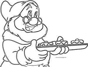 Snow white disney doc coloring page 14