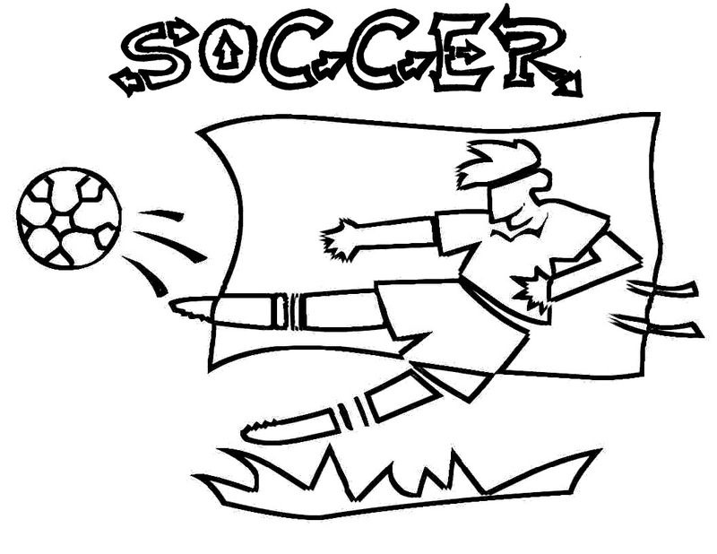 Soccer Ball Coloring Pages 001