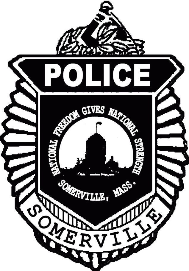 Somerville Police Badge Coloring Page To Print