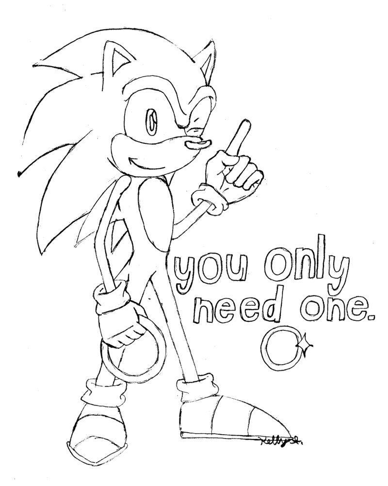 Sonic Girls Coloring Pages