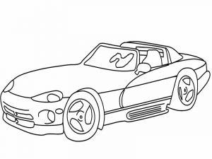 Sports car coloring pages 001 1